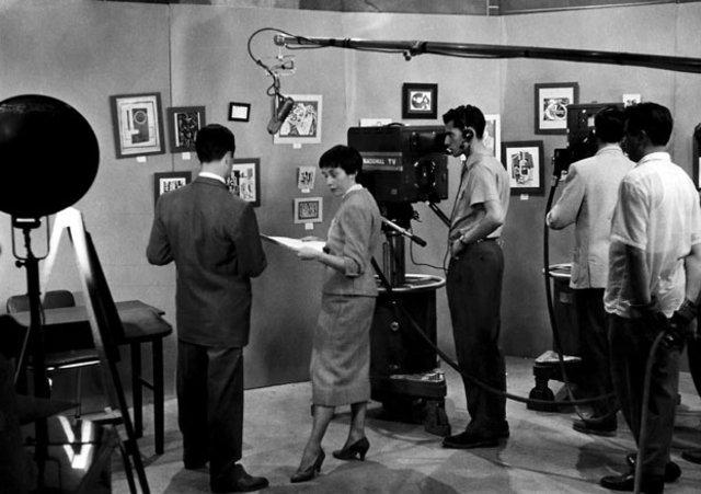 La primera transmisión de televisión entre EE. UU. y Europa.