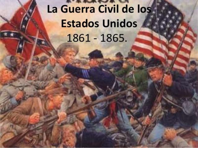 Guerra Civil Estados Unidos(1861-1865)