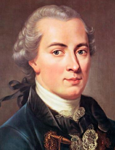 Иммануил Кант(1724-1804)