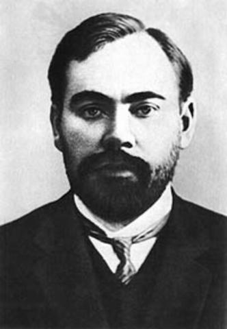 А. А. Богдановым (псевдоним; настоящая фамилия Малиновский; 1873–1928)