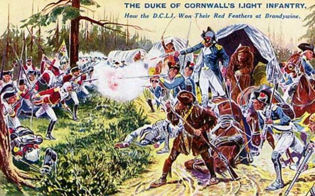 Battle at Brandywine Creek