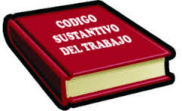 Decreto 2350 promulgaba   Código Sustantivo del Trabajo