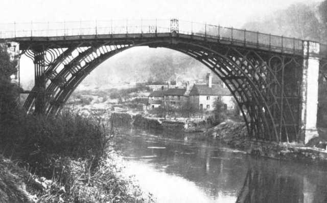 Primer puente construido con hierro