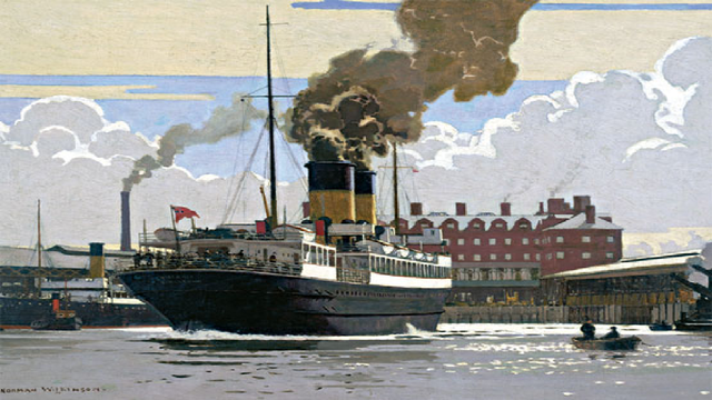 Primer barco de hierro