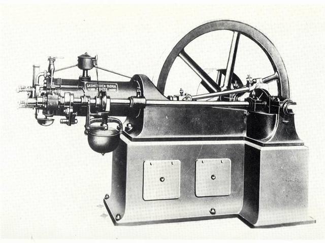 1er motor de combustión interna de 4 tiempos