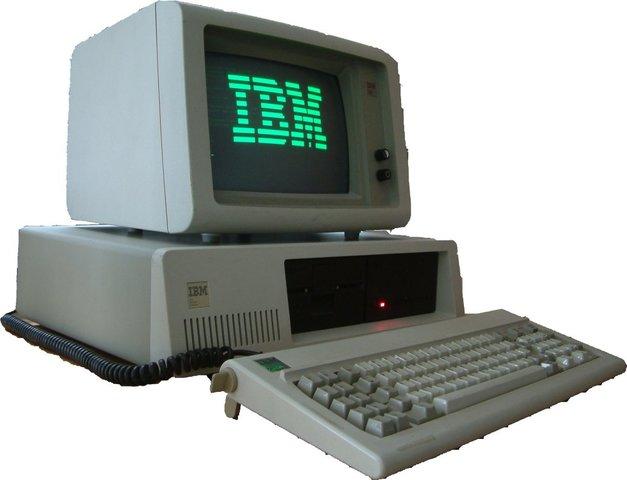 Comercialización del primer PC IBM