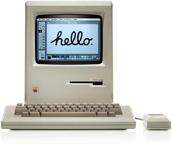 Apple lanza el sistema Macintosh
