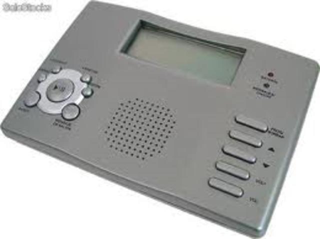 Contestadora digital de teléfono