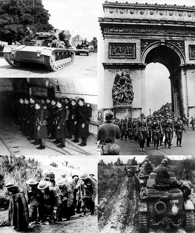 Nazis Invade France