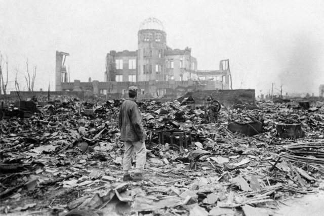 First Atomic Bomb Dropped