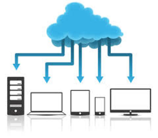 La nuve: Gmail, OneDrive, Dropbox, etc.