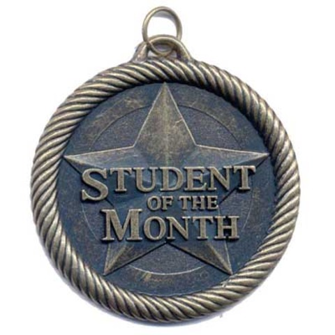 Became Student of the month again!