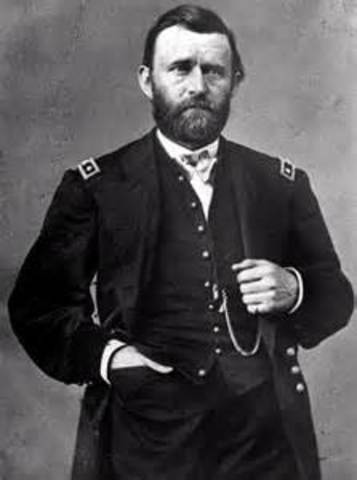 Ulysses S. Grant is inaugurated as the 18th president