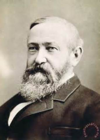Benjamin Harrison is inaugurated as the 23rd president