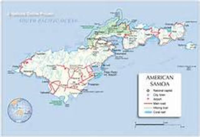 U.S. acquires American Samoa