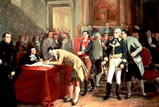 Gran Bretaña y Francia De Enfrentan Por La Autoridad Colonial