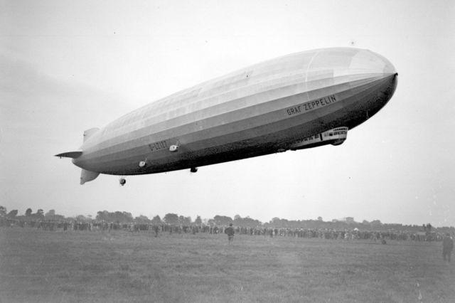 Zeppelin Primer Dirigible Comercial