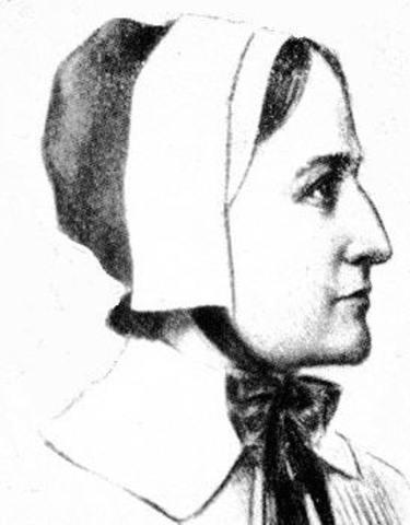 Anne Hutchinson Born