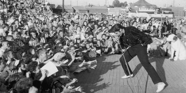 Presley's live shows