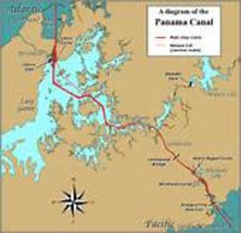 U.S. acquires Panama Canal Zone