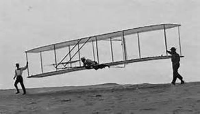 Wright brothers make the first controlled, sustained flight