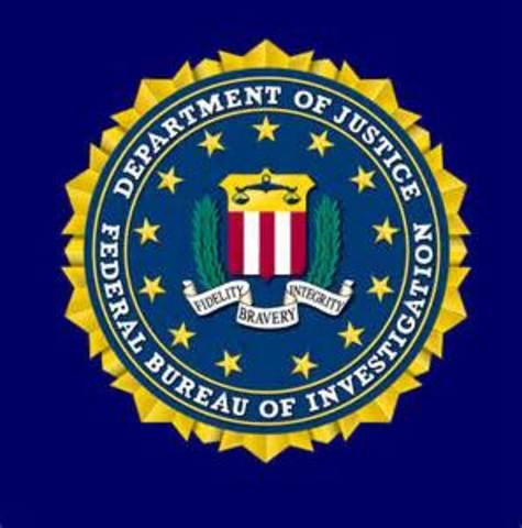Bureau of Investigation, forerunner of the FBI, is established
