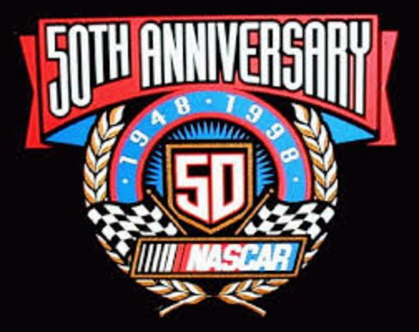 NASCAR ANNIVERSARY