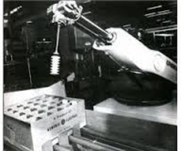 robot 'Unimate'