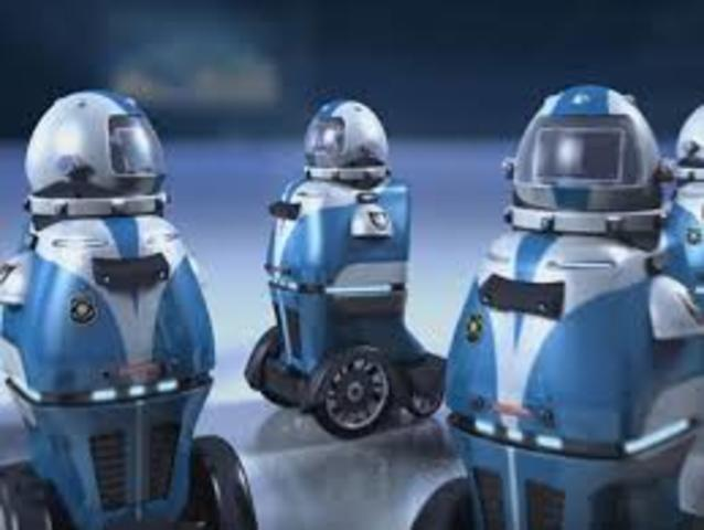 robot en forma de Z