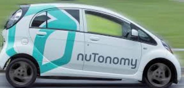El primer servicio de taxis eléctricos autónomos: NuTonomy