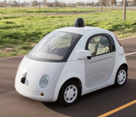 La presentación de Google sobre un modelo de vehículo autónomo