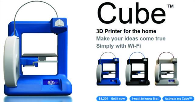 Las primeras impresoras 3D disponibles para uso doméstico