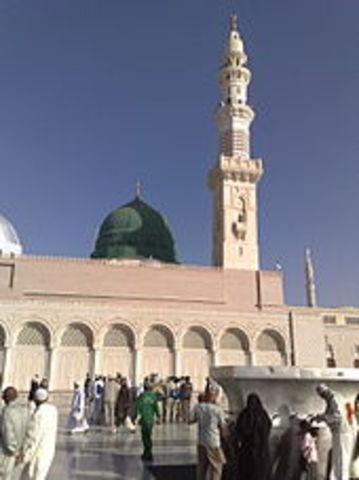 Death of Muhammad