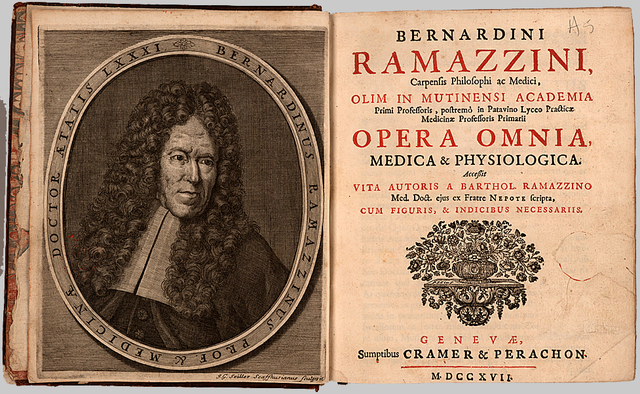 (1700) Bernardino Ramazzini