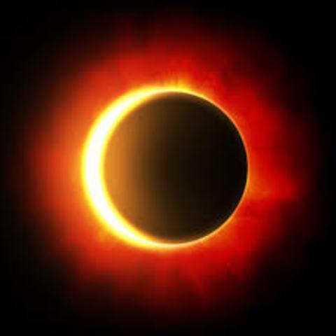 Prediciones del eclipse  solar