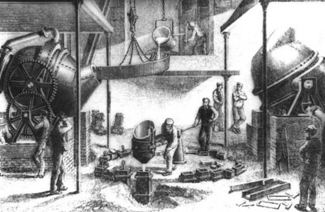 Con la revolución industrial