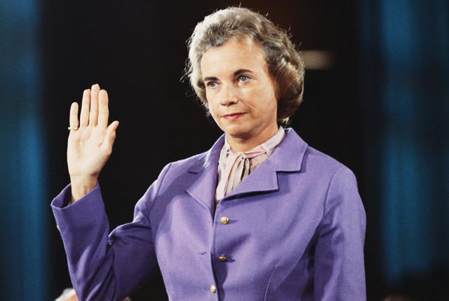 Sandra Day O'Connor Becomes First Woman on Supreme Court