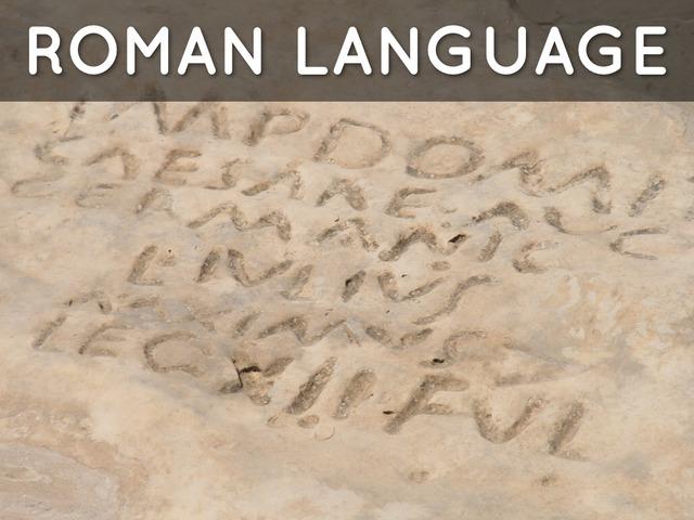 Roman Traditions (1st Century BC to aprroximately 500 AD)