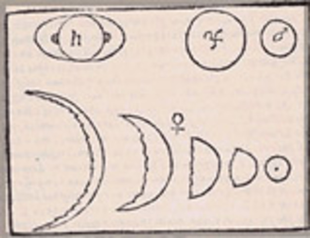 Galileo's sighting of Venus