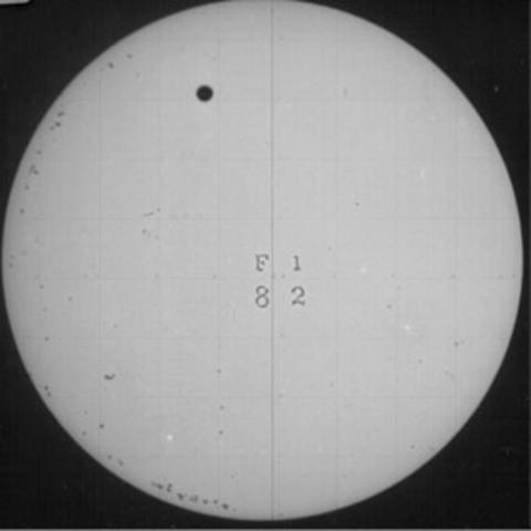 First photographs of Venus