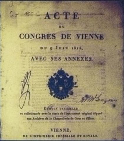 Congress of Vienna-political