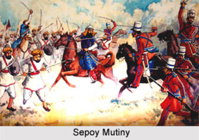 Sepoy Mutiny-political