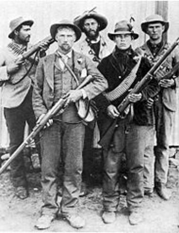 Boer War - British in control of South Africa-political