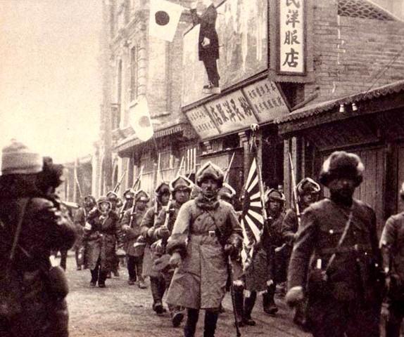 Japanese invasion of Manchuria-political