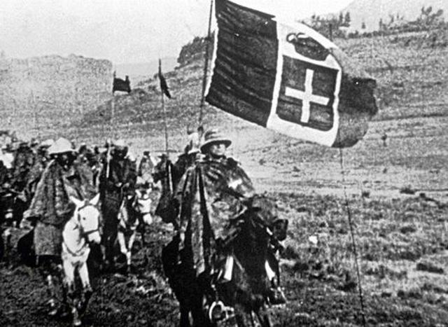Italian invasion of Ethiopia-political