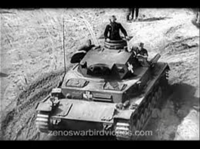 German Blitzkrieg in Poland-political