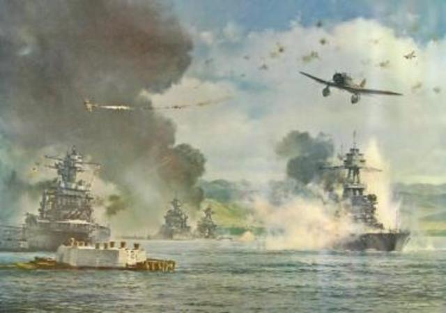 Pearl Harbor, entry of US into WWII-political