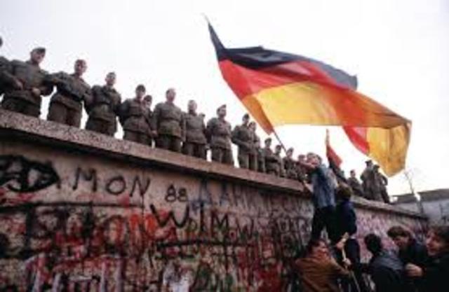 Tiananmen Square/fall of Berlin Wall-political