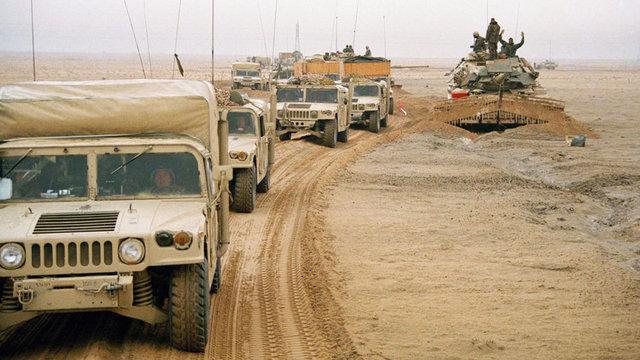 Fall of USSR/1st Gulf war-political