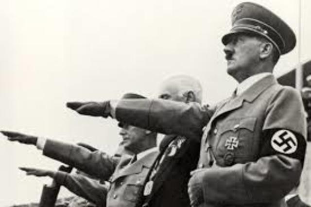 WWII Europe - Hitler in Power